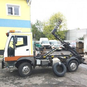 foto 6.5t hook 4x4 municipal Bucher